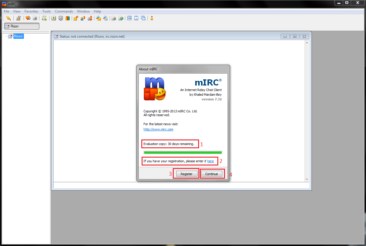 IRC/MIRC complete guide - FAQs & Guides - OGame EN